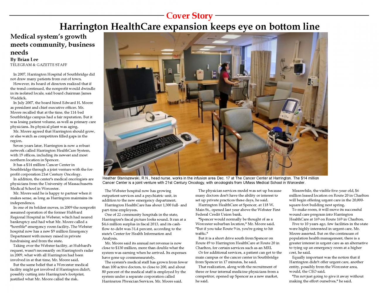 HH Telegram Cover Story - 12-21-14 pg. 1