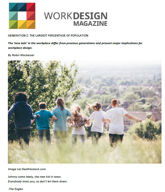 Work Design Magazine 2 - a3 Workplace Strategies