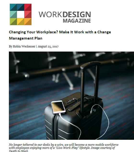 Work Design Magazine - a3 Workplace Stratgies